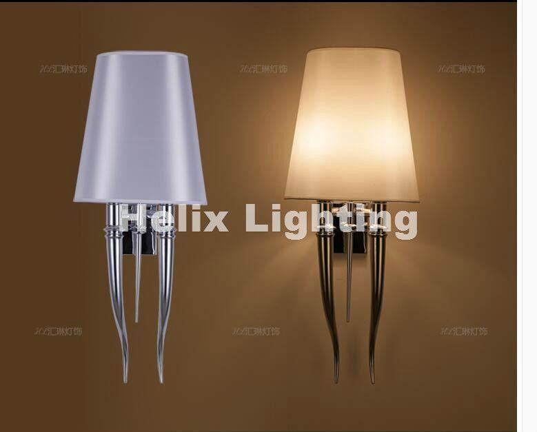 Modern Chrome LED Wall Lamp For Bathroom Bedroom Wall Sconce Indoor Lighting Lamp AC 90-260V LED Wall Lighting