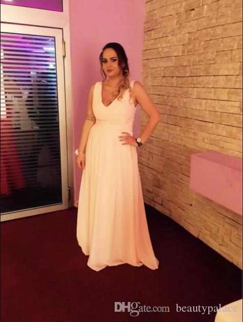 Mint Green Long Chiffon Uma Linha Sweetheart Plissada Dridesmaid Dress 2017 Barato Vestidos De Promoção Sob 80 $