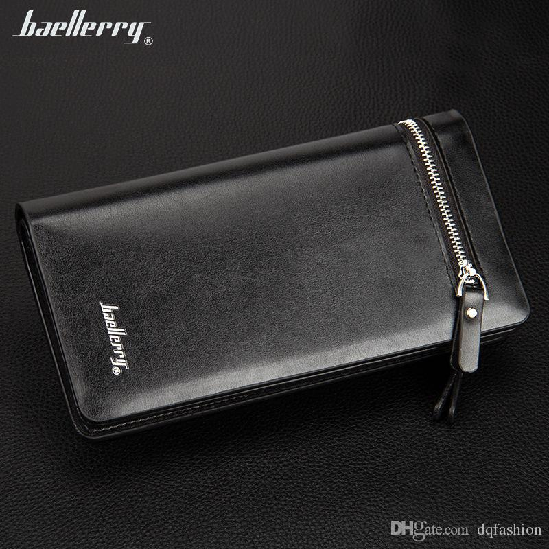 New Arrival Famous Designer Men's Baellerry Wallets Boy's Clutch Wallet Case Clutch Credit Cards Holders Man's Business Wallets