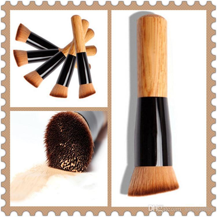 017 pinceaux de maquillage poudre correcteur fard à joues liquide de base visage maquillage brosse outils professionnel beauté cosmétiques