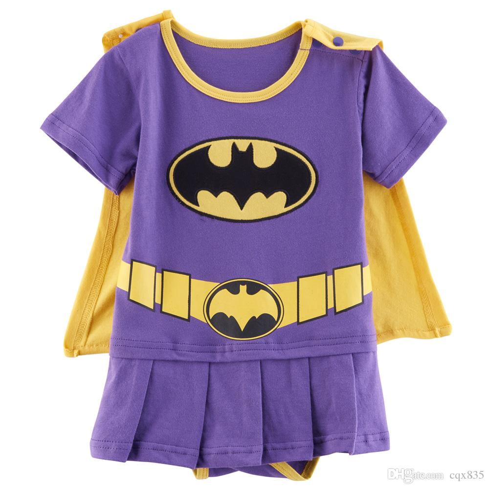Baby Girl Batgirl Costume Party Romper Infant Dress with Cape 100% Cotton Batgirl Baby Costume Baby Infant Online with $12.57/Piece on Cqx835u0027s Store ...  sc 1 st  DHgate.com & Baby Girl Batgirl Costume Party Romper Infant Dress with Cape 100 ...