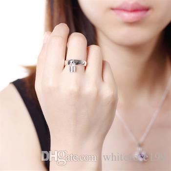Wholesale - Retail lowest price Christmas gift, new 925 silver fashion Ring yR014