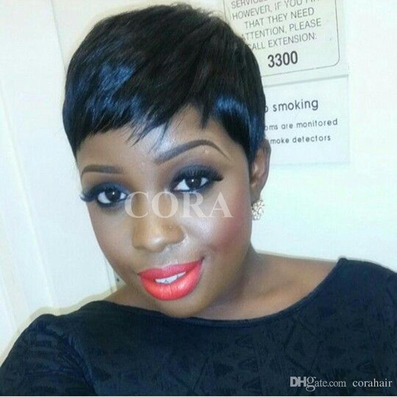 Female Wig Short Straight Black Wigs For Black Women Short Straight