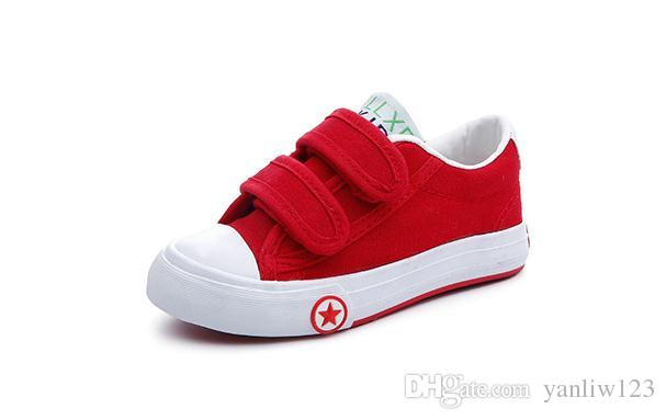 Children's Casual Shoes Girls Canvas Flats Children Shoes Sneakers Casual Sneakers in Jeans Color Kids Shoes