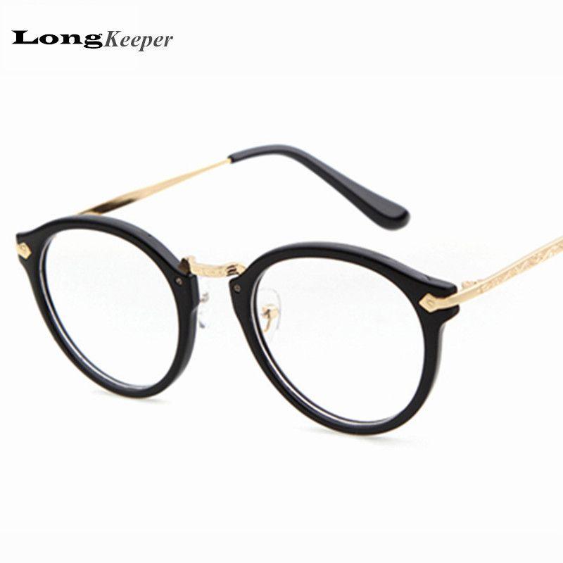 2018 Wholesale New Arrived Glasses Frame Women Round Eyeware ...