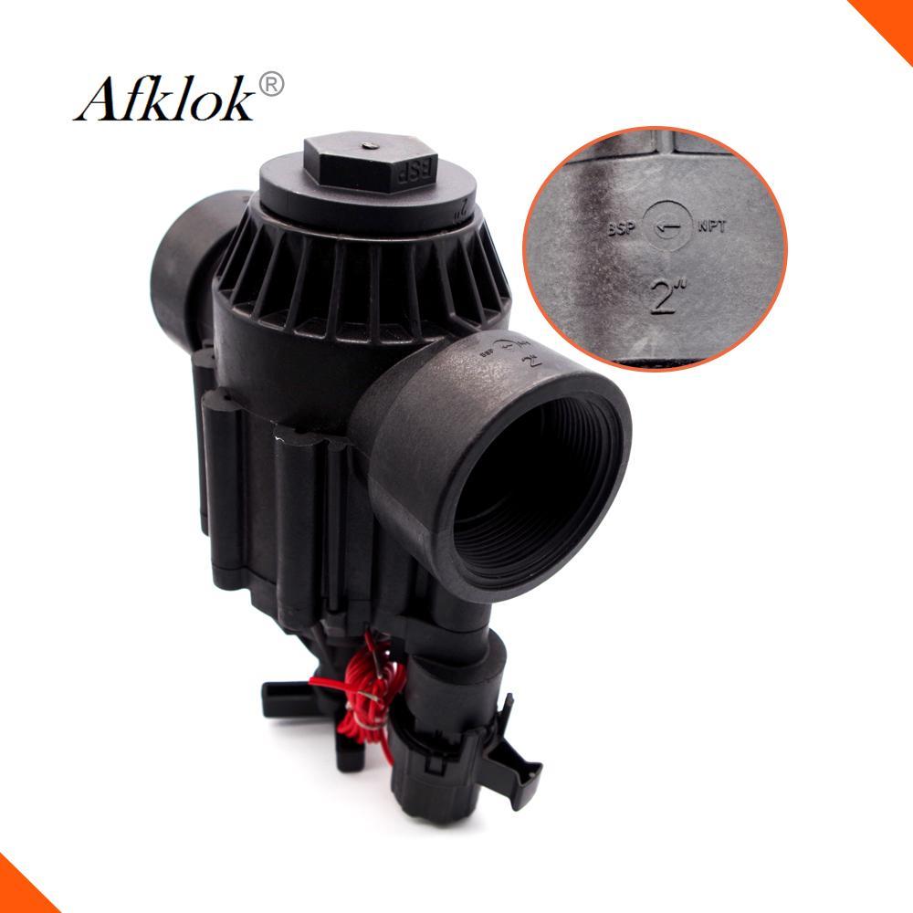 Высокое качество 200P 2 дюйма полива сада управления водой электромагнитный клапан 220vac 110vac 12V запирая на задвижку соленоид
