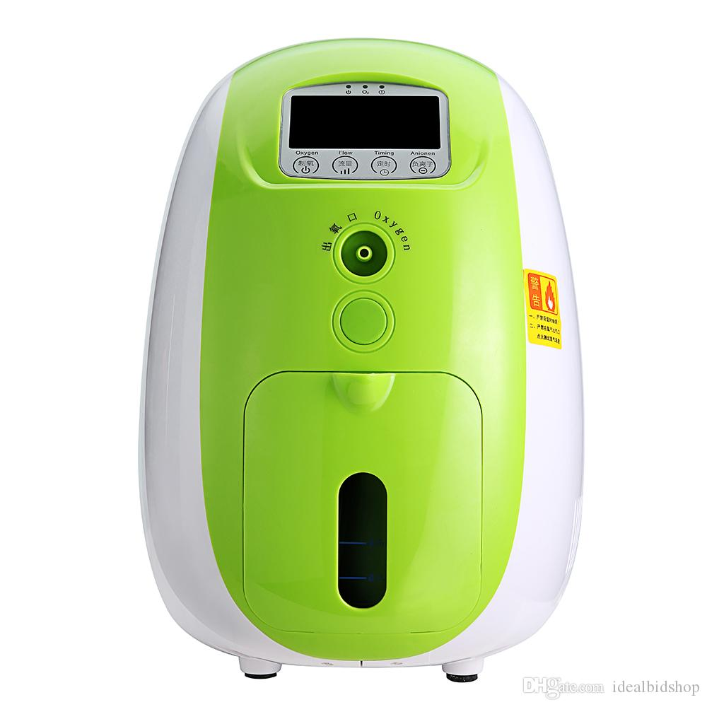 Home physical therapy equipment - Home Therapy Equipment High Quality 1l Portable Full Intelligent Home Oxygen Concentrator Generator Work Compact Silent Physical Therapy Instruments