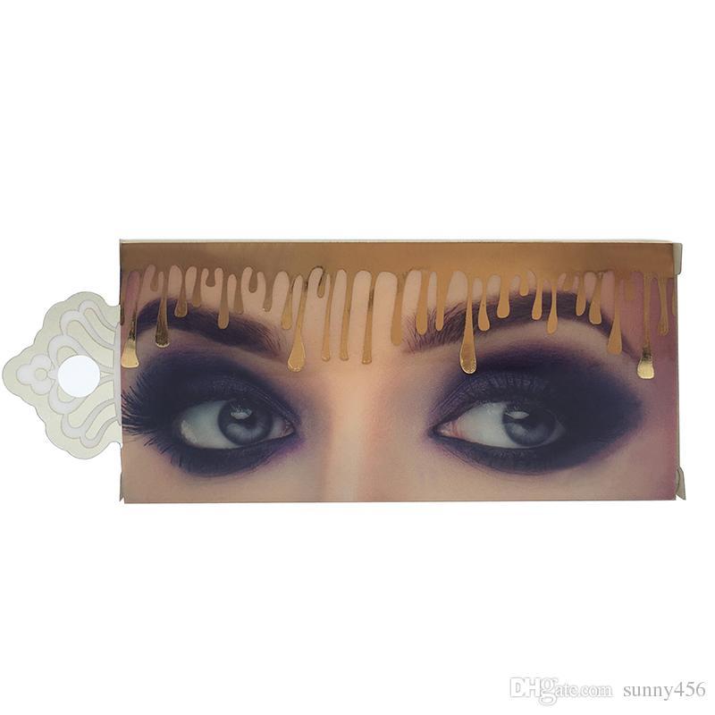 2018 False Eyelashes 45 Model Eyelash Extensions Handmade Fake
