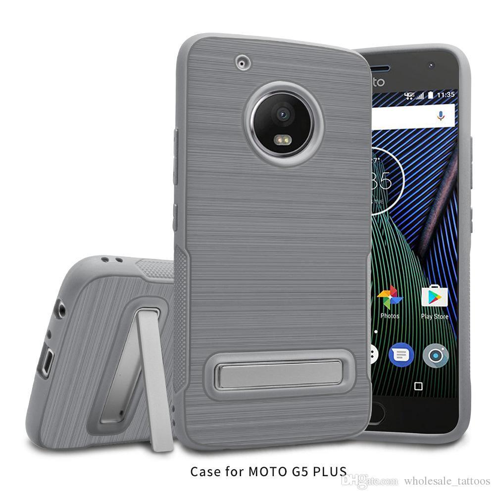Motorola Moto G5 G5 Inoltre Samsung Galaxy J3 primo metropolitana S8 PLUS J3 Emerge J327P J5 J7 2017 2017 TPU caso LG V20 armatura con supporto