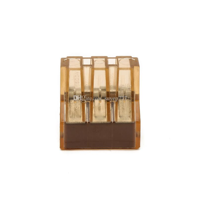 / Push in Wire wiring Connector For Junction Boxes 6pin conductor terminal block PCT-606/773-606