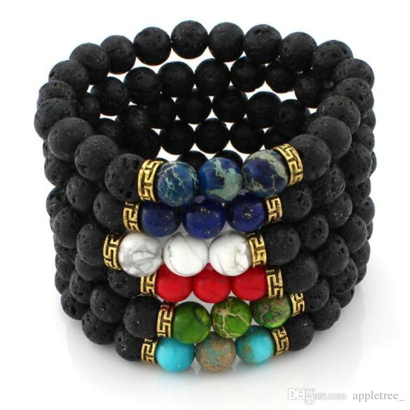 masculina woman beaded mens for bracelet beads bead buddha charm bangle luxxessories women imperial pulseras stones set crown mcllroy natural and products men