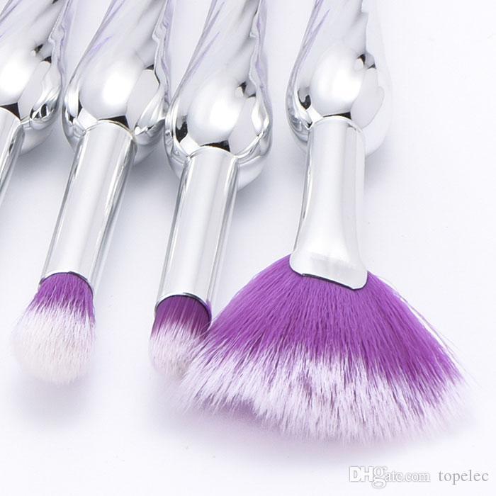 Bonne qualité nouvelle arrivée Maquillage Pinceau Professionnel Blush Poudre Sourcils Fard À Paupières Lèvres Nez Mélange Make Up Brush Cosmétique Outils