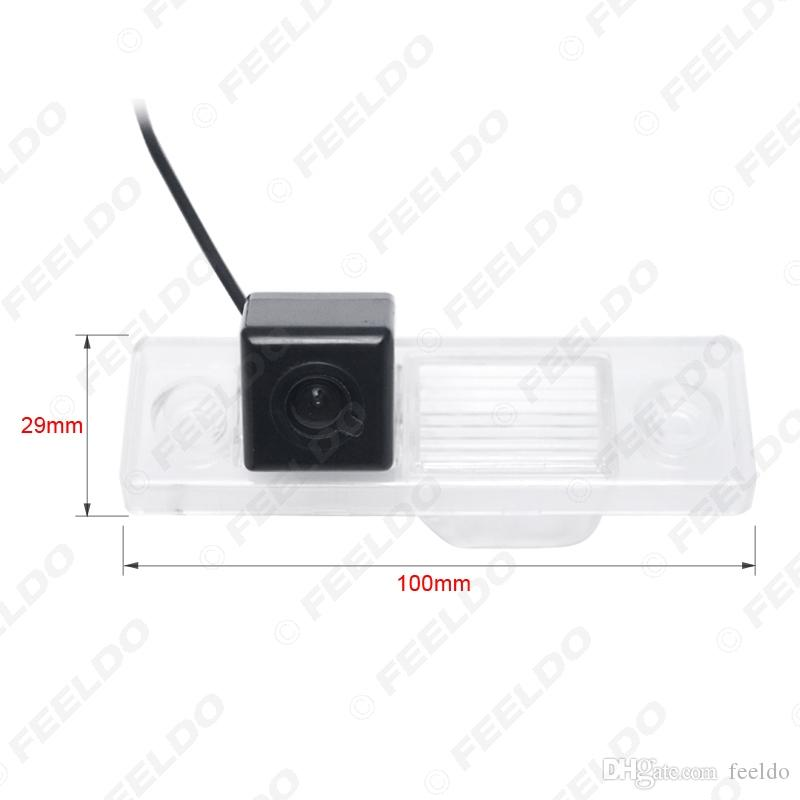 FEELDO سيارة عكس كاميرا الرؤية الخلفية للCHEVROLET EPICA / وفا / AVEO / كابتيفا / كروز وقوف السيارات كاميرا # 4501