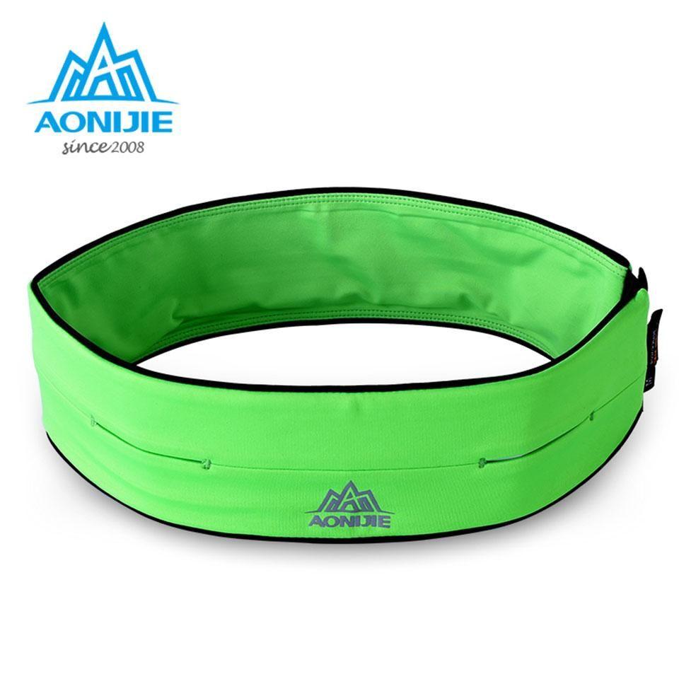 Best Wholesale Aonijie Outdoor Colorful Sports Bags Running Waist Bag Blue Green Accessories Multifunction Handset Marathon Under 4197