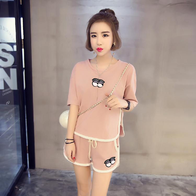 55b6368da 2019 Wholesale Factory Sale Women Pajamas Suits Summer Cartoon ...