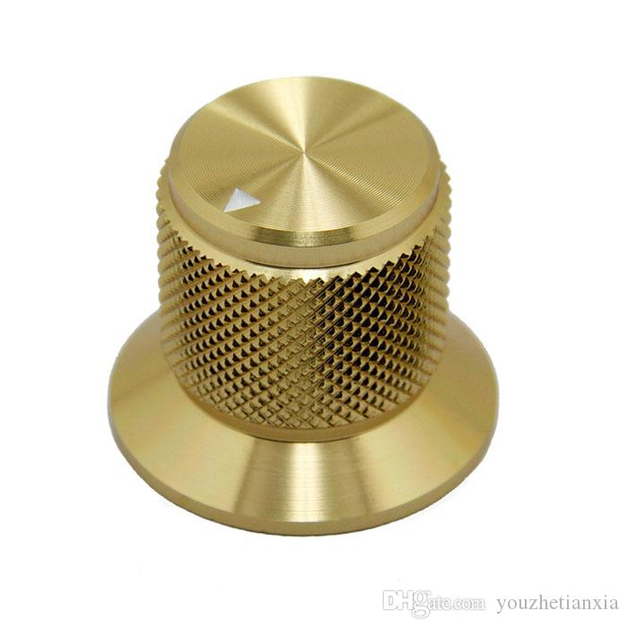 30*25mm guitar hifi electronic potentiometer knob DIY Digital part Sound volume switch knob Tube Amplifier knob