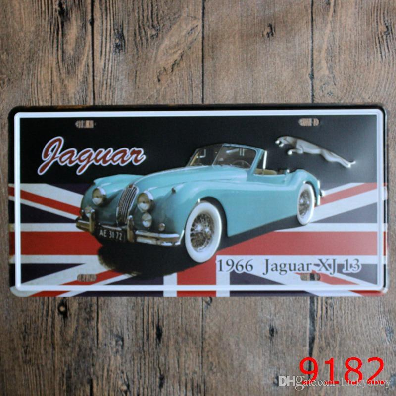 Beach Las Vegas Keep calm Car Metal License Plate Vintage Home Decor Tin Sign Bar Pub Cafe Garage Decorative Metal Sign