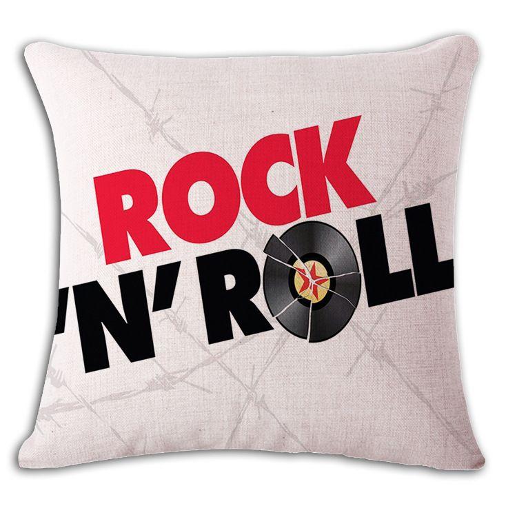 ee.uu. letras inglesas funda de cojín estilo punk sofá chaise tiro funda de almohada oficina en casa cojines shabby chic cojines