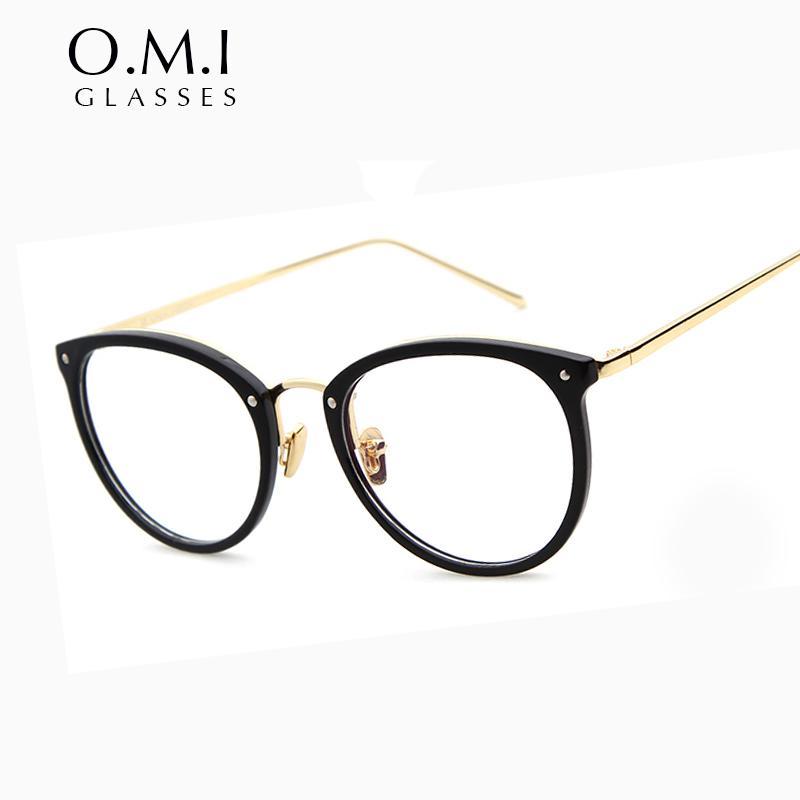 Top Quality Round Eye Glasses Frame 2017 Men Women Vintagec Myopia ...