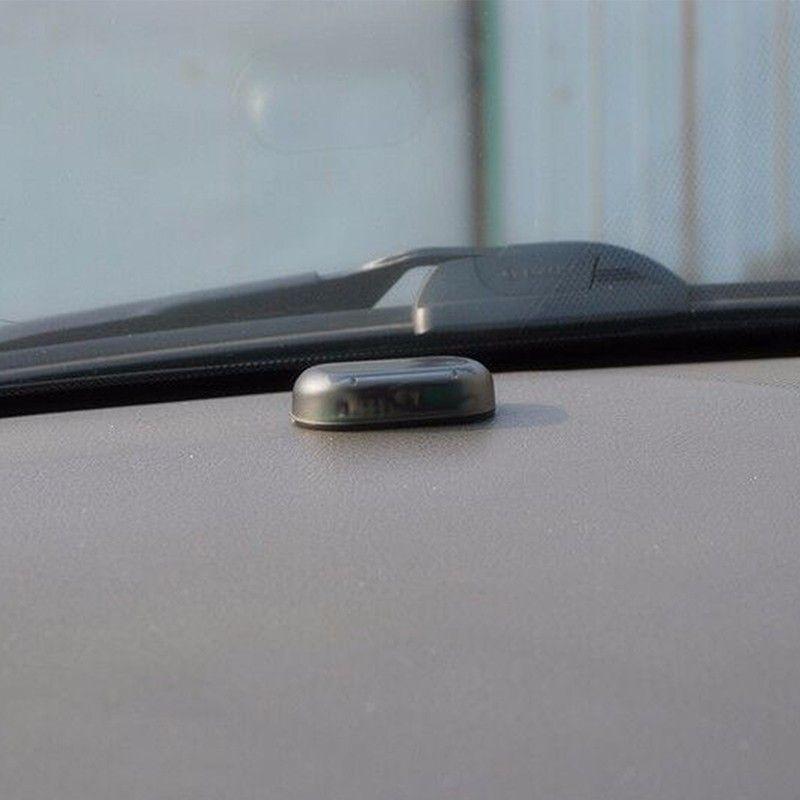 Wireless Car Alarm LED Light Security Warning System Lamp Theft Flash Blinking Light Simulate Solar Built-in light Sensor