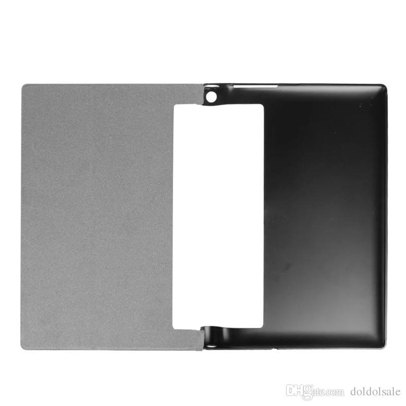 Slim Flip PU Leather Case Cover for Lenovo Yoga Tab3 Tab 3 Plus 10.1 inch Tablet + Stylus Pen