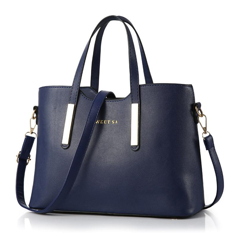 17ac2d57d3 2017 Fashion New Women Leather Handbags Ladies Messenger Bag Crossbody Bag  Brand Designer Tote Bag Bolsos Mujer De Clutch Bags Beach Bags From ...