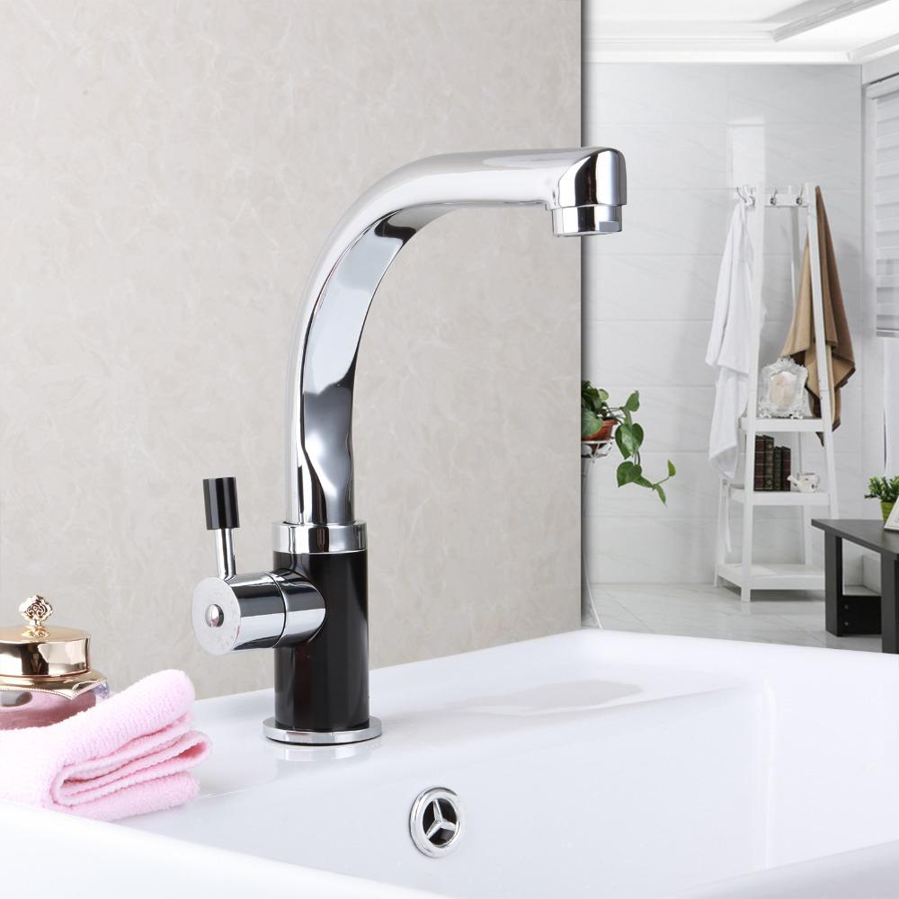 2018 Wholesale Brass Chrome Kitchen Faucet Bathroom Faucet Rotating ...