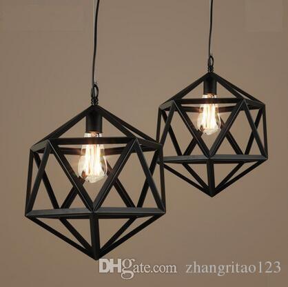 Single Head Loft Vintage Pendant Light Industrial Antique Iron ...