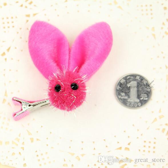Hot sale Elf rabbit ears girl hairpin hand hairpin baby children hair clips hair accessories FJ066 a