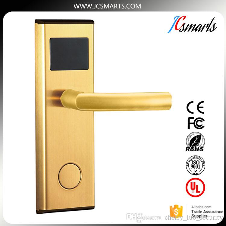 2018 Stainless Steel Rfid Hotel Door Locks With Free Software Keyless Intelligent Lock Swipe Rf Card Unlock From Cherry_luo_security $17.28 | Dhgate.Com  sc 1 st  DHgate.com & 2018 Stainless Steel Rfid Hotel Door Locks With Free Software ...