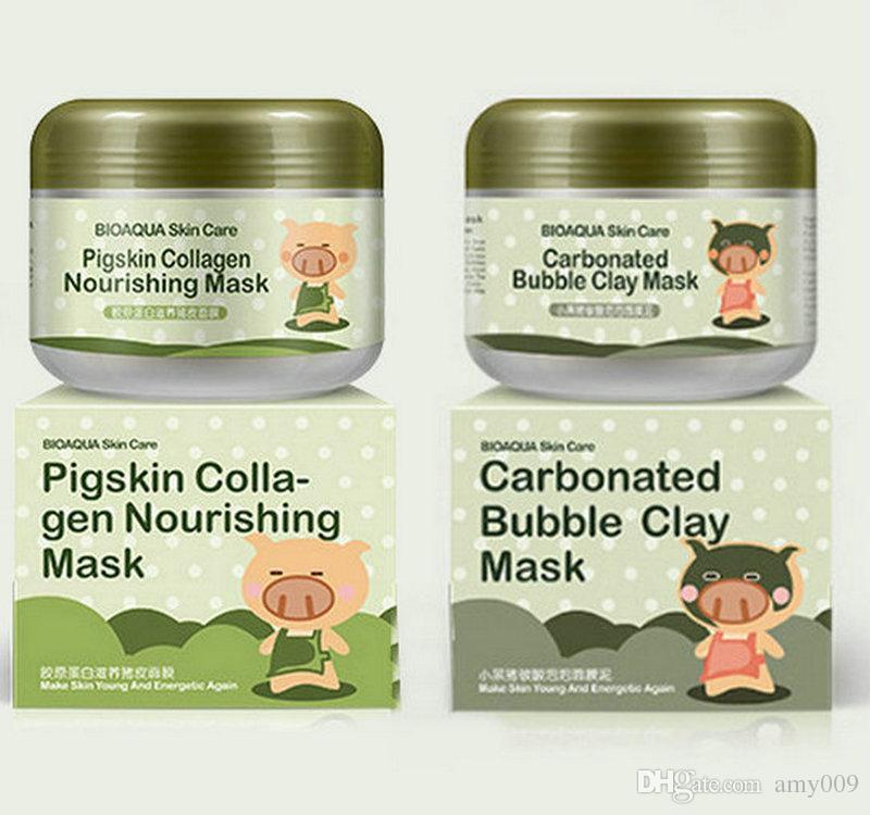 bioaqua bubble clay mask