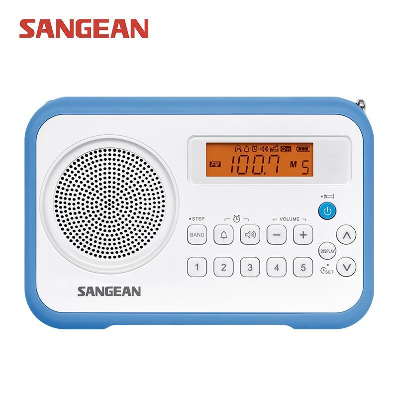 24a62aa392d Compre Venda Por Atacado Sangean Pr D18 Am   Fm   Relógio Radio Digital  Portátil De Starship5