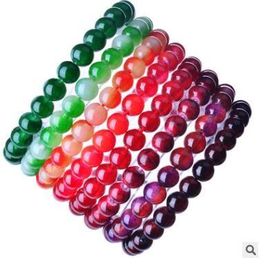 24d3c64e 2019 Glass Paint Bracelets Bangle Elastic Beaded Bracelets Gift Long  Lasting Color Preserving Many Colors From Wangrong19850212, $8.13 |  DHgate.Com