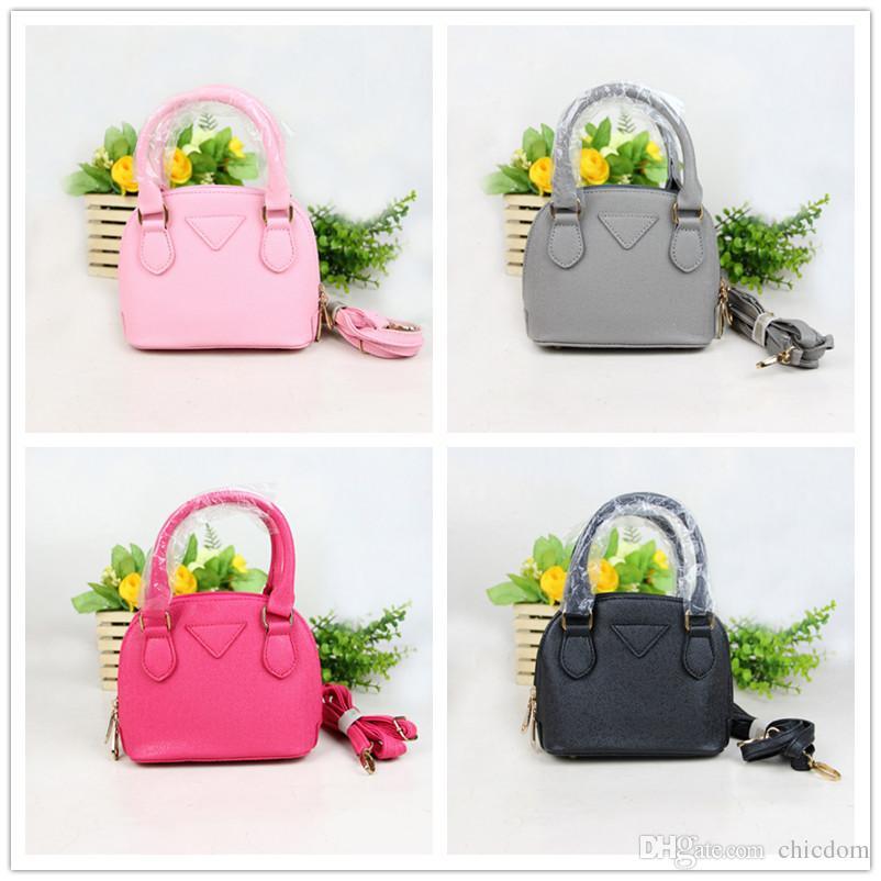 New Baby Pink Tote BAG Fashion Kid Handbag
