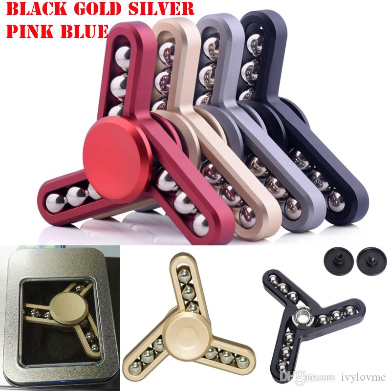 9 Balls Fid Spinner Fingertip Vision Spinner Gyro Hand Spinner