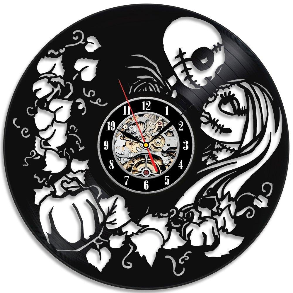 nightmare before christmas vinyl wall clock great gift retro wall clocks retro wall clocks kitchen from dg88090431 2111 dhgatecom