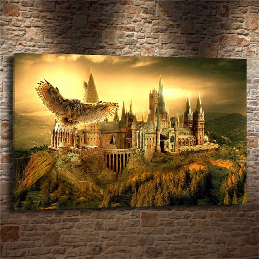 Best Harry Potter Hogwarts ,Home Decor Hd Printed Modern Art ...