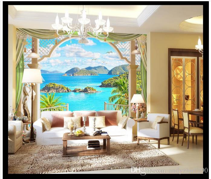 3D Fototapete benutzerdefinierte 3d Wand Wandbilder europäischen Stil Hintergrund Wand Wandbilder 3D Wohnzimmer Wanddekoration