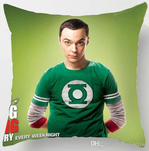The Big Bang Theory Cushions Covers Jim Parsons Sheldon Spot Pillow Cushion Cover Decorative Linen Pillow Case For Car Sofa Couch Seat