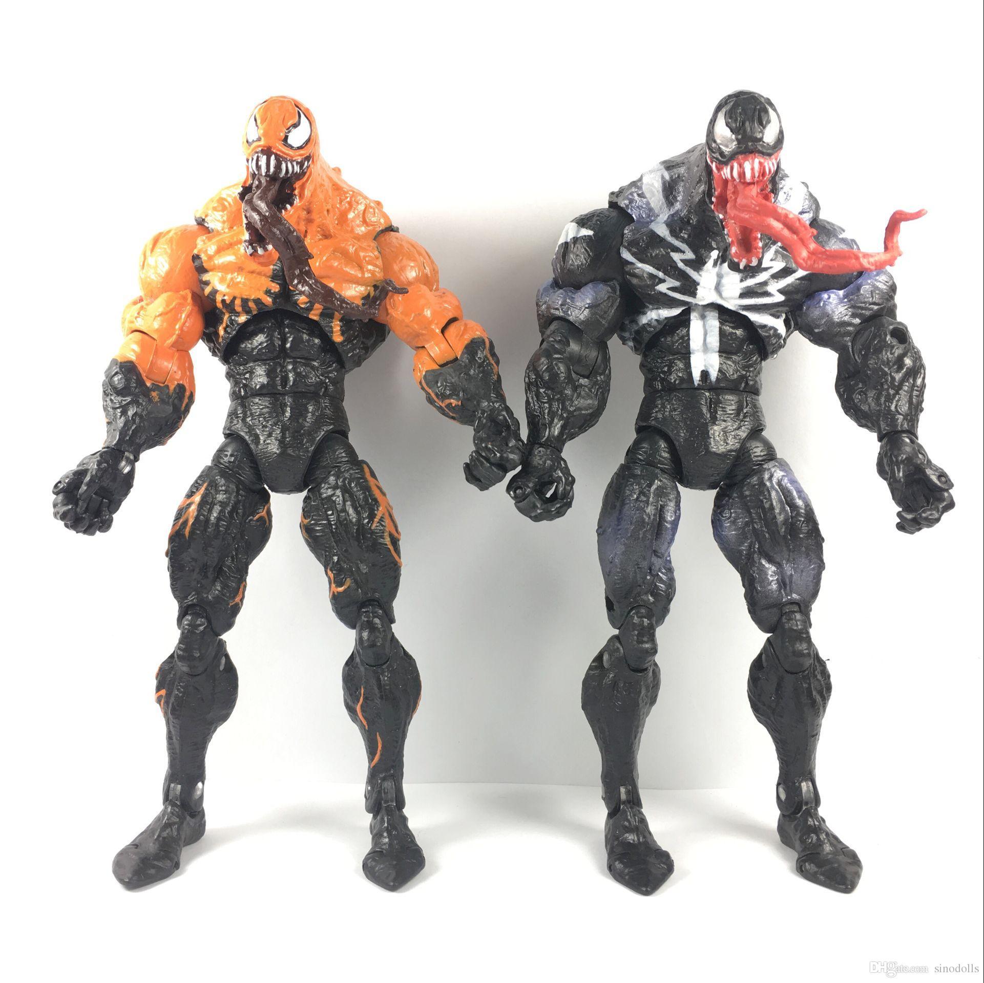 2018 2017 surper rare new marvel legends spider man venom