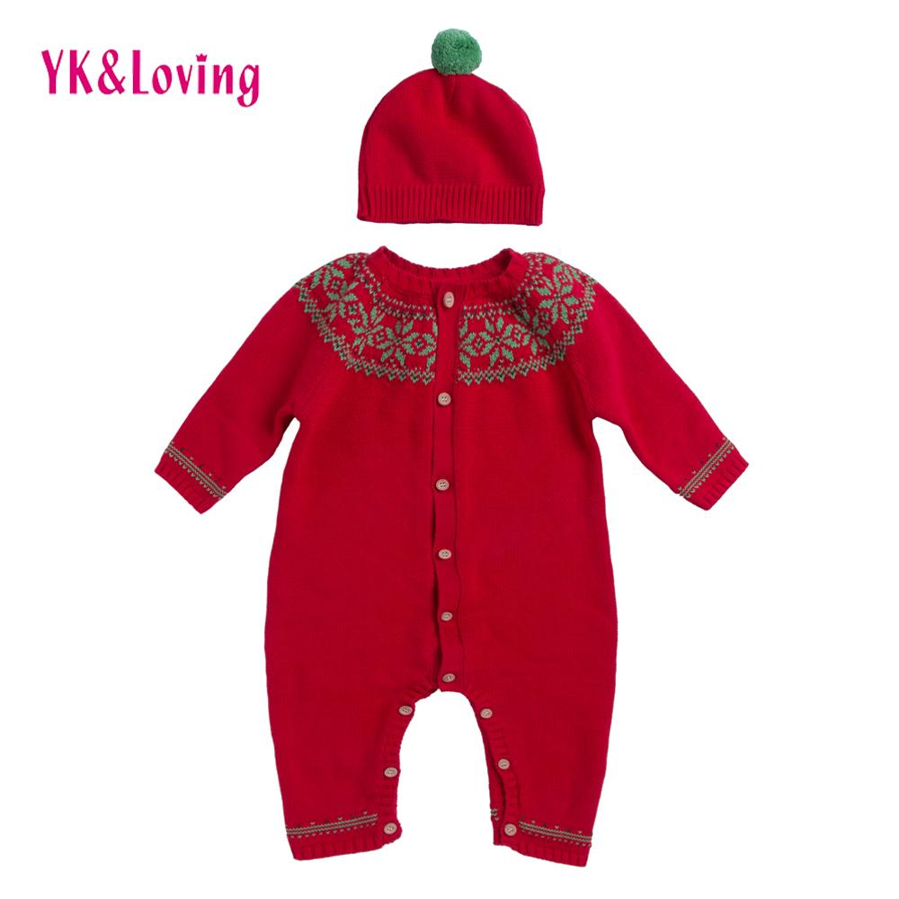 2018 Spring Baby Girls Sweater Romper Hot Sale Baby Boy Clothing