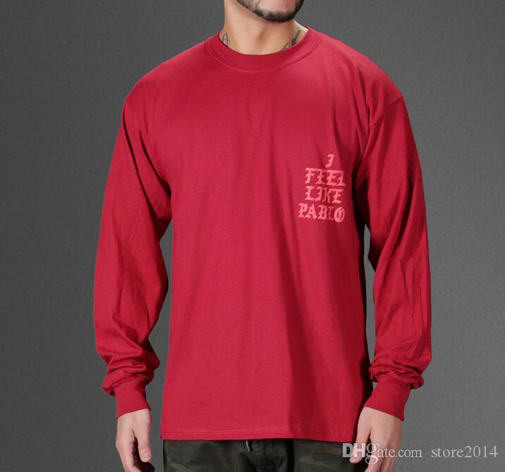 Yeezus T-shirt Je me sens comme Kobe T-shirt Hommes Kobe Retire T-Shirt commémoratif Mamba Yeezus Hip Hop Sport T-shirts Tops Kanye West