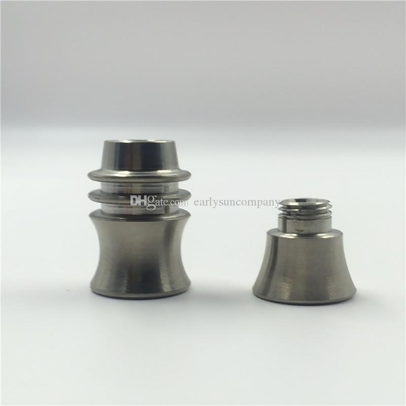 14mm Doğrudan enjekte Kubeless titanyum Tırnak Hiçbir Adaptör Gerekli -male eklem, en uygun ti tırnak! Cam Su Borusu Sigara İçin