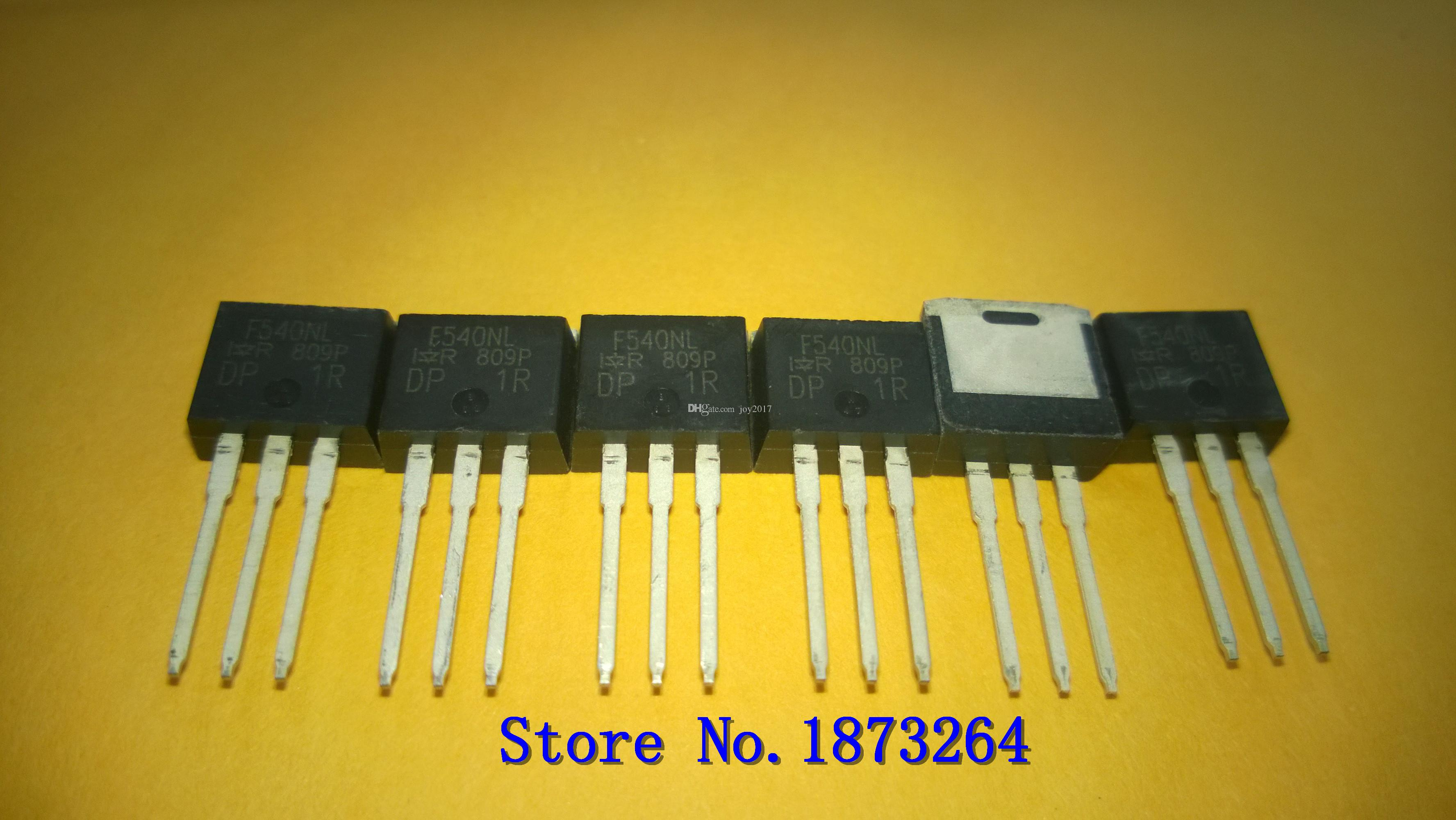 Free shipping IRF540NL IRF540NLPBF F540NL IRF540 TO-262 original and new  10PCS/LOT