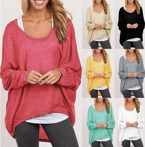 2018 2016 Winter Women Burst Models Pullover Sweater Loose Women'S ...