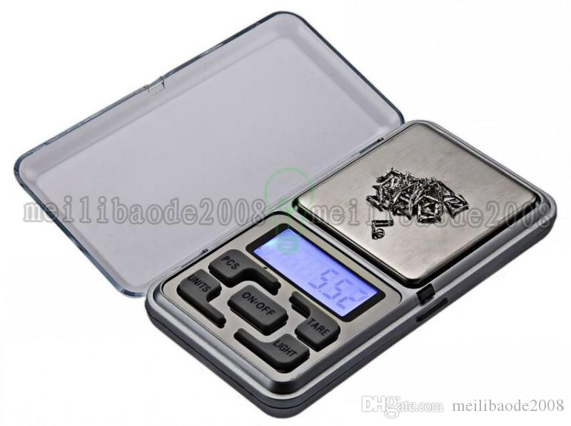2017 new 200g 0.01g Digital Electronic Jewelry Diamond Pocket Scale with retail box MYY