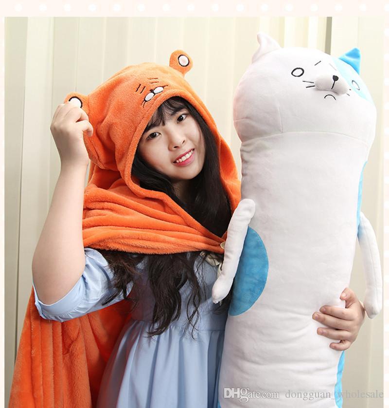 Anime giapponese Himouto! Umaru-chan mantello Doma Umaru costume cosplay flanelle mantelli casa vestito coperta morbido cappuccio con cappuccio