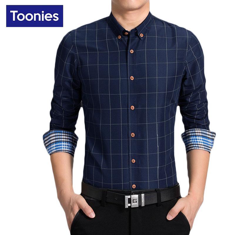 Verantwortlich Shirt Männer Business Langarm Schlanke Revers Kleid Hemd Tops Kleidung Neue Stil Mode Vetement Homme Camisa Sozialen Masculina Hemden Herrenbekleidung & Zubehör