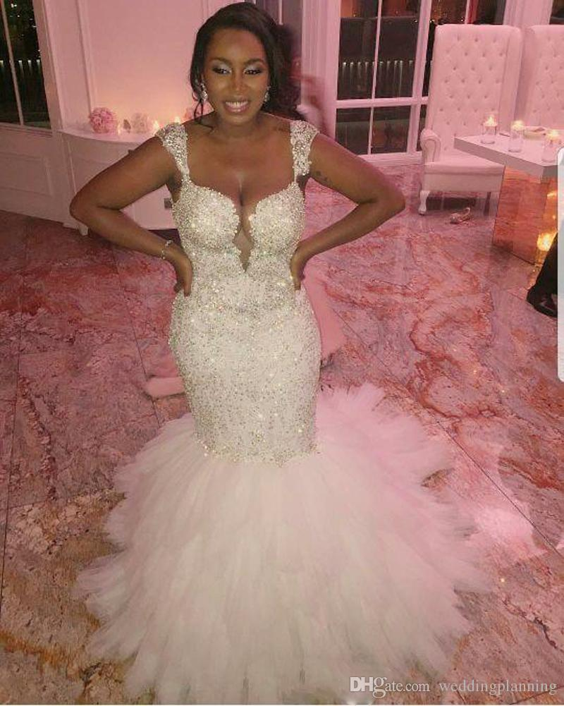 Discount South African Country Full Lace Plus Size Wedding Dresses ...