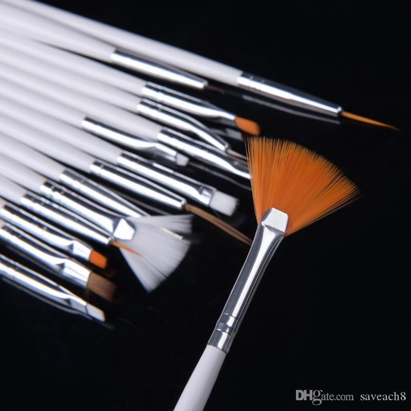 Professional Nail Art Brushes Nail Drawing Paint Brushes For Uv Gel